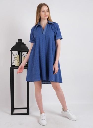 JEANNE D'ARC Elbise Mavi